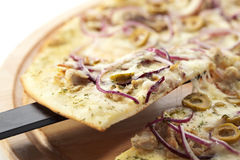 Tuna Pizza Royalty Free Stock Images