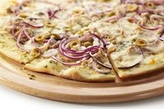 Tuna Pizza Royalty Free Stock Photos