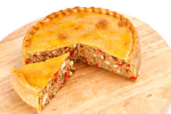 Tuna Quiche Stock Photos