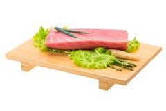 Tuna raw steak Stock Photography