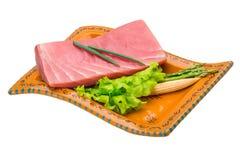 Tuna raw steak Stock Photo