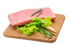 Tuna raw steak Stock Photos