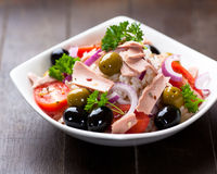Tuna and rice salad Royalty Free Stock Images