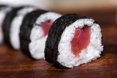 Tuna Roll Lizenzfreie Stockfotos