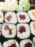 Tuna Roll Imágenes de archivo libres de regalías