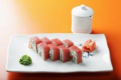 Tuna roll Stock Image