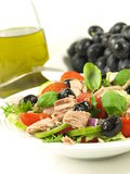 Tuna salad as appetizer Stock Photography