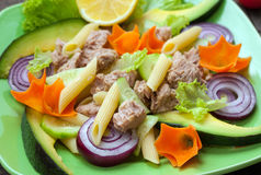 Tuna salad Stock Photos