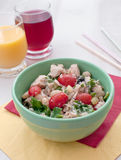 Tuna salad with cannelini beans Royalty Free Stock Image