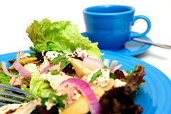 Tuna Salad Closeup Royalty Free Stock Photos