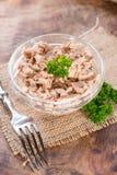 Tuna Salad feita fresca Fotografia de Stock Royalty Free