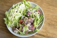 Tuna Salad fraîche épicée, style japonais Photographie stock libre de droits