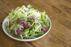 Tuna Salad fraîche épicée, style japonais Photo libre de droits