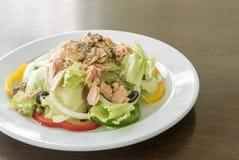 Tuna Salad. Fresh Tuna Salad with tuna dressing Royalty Free Stock Photos