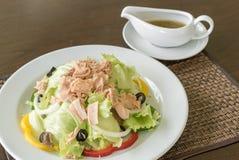 Tuna Salad. Fresh Tuna Salad with tuna dressing Stock Photo