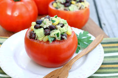 Free Tuna Salad In Tomato Cup Royalty Free Stock Images - 56089489