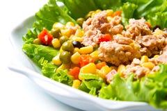 Tuna salad with mais Royalty Free Stock Photography