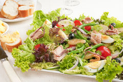 Tuna Salad Nicoise Stock Photo