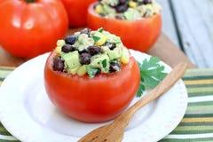 Tuna Salad no copo do tomate Imagens de Stock Royalty Free