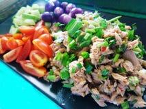 Tuna Salad piccante Immagini Stock Libere da Diritti