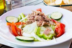 Tuna salad. Royalty Free Stock Photo