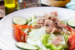 Tuna salad. Stock Image