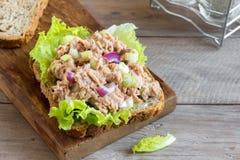 Tuna Salad Sandwich stock foto