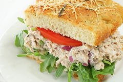Tuna Salad Sandwich Royalty Free Stock Images