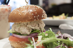 Tuna salad sandwich Royalty Free Stock Image