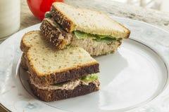 Tuna Salad Sandwich Stock Image
