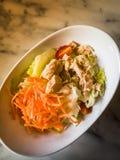 Tuna Salad , Top view Stock Photos