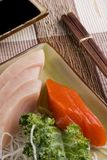Tuna and Salmon - Sashimi Royalty Free Stock Photos