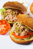 Tuna sandwich Royalty Free Stock Photos