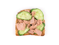 Tuna Sandwich Immagine Stock