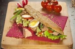 Tuna Sandwich photo stock