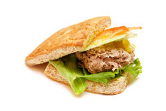 Tuna Sandwich Stock Images