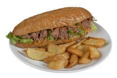 Tuna Sandwich Immagini Stock Libere da Diritti