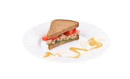 Tuna sandwich. Royalty Free Stock Photos