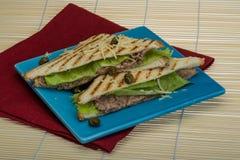 Tuna sandwich Royalty Free Stock Photo