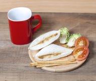 The Tuna sandwich Stock Image