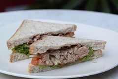 Tuna Sandwiches Royalty Free Stock Photography