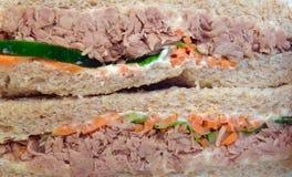Tuna sandwiches Stock Photos