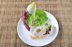 Tuna sandwiches Stock Images