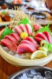 Tuna sashimi Royalty Free Stock Photos