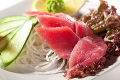 Tuna Sashimi Royalty Free Stock Photos