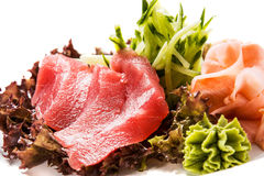 Tuna sashimy Royalty Free Stock Image