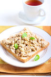Tuna scrambled egg Stock Image