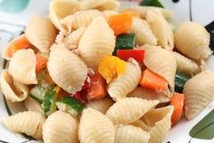 Tuna Shell Pasta Royalty Free Stock Photo