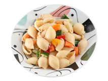 Tuna Shell Pasta Royalty Free Stock Photos