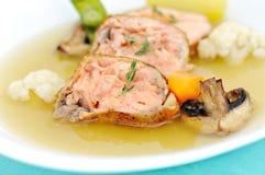 Tuna soup Royalty Free Stock Photography